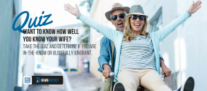 How well do you know your wife?