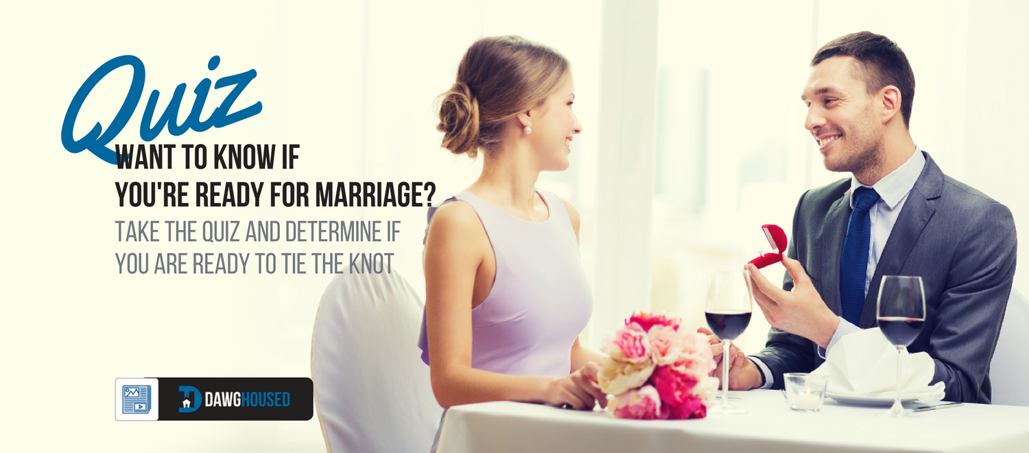 Quiz are you ready for marriage